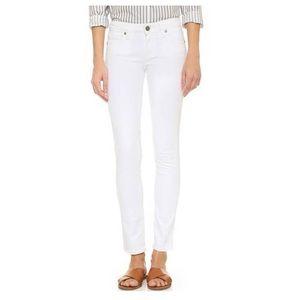 Paige - Skyline Ankle Peg White jeans 30 EUC